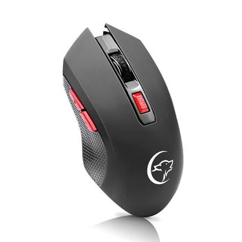 2.4GHz Wireless Gaming Mouse 2400DPI 6 buttons with rollers Comfort Gamer Mice for Computer Desktop Laptop
