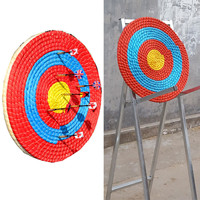 Outdoor Sports Archery Straw Bow Arrow Target Single Layer Bow Hunting Shooting Single Layer Multicolor Archery Target