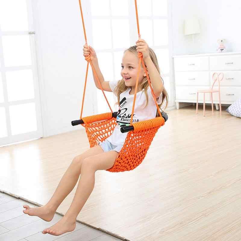 Детский ремень для игрушек чистая внутренних и наружных Семья детские подвесные гамак для уличное подвесное кресло ребенка игрушка качели