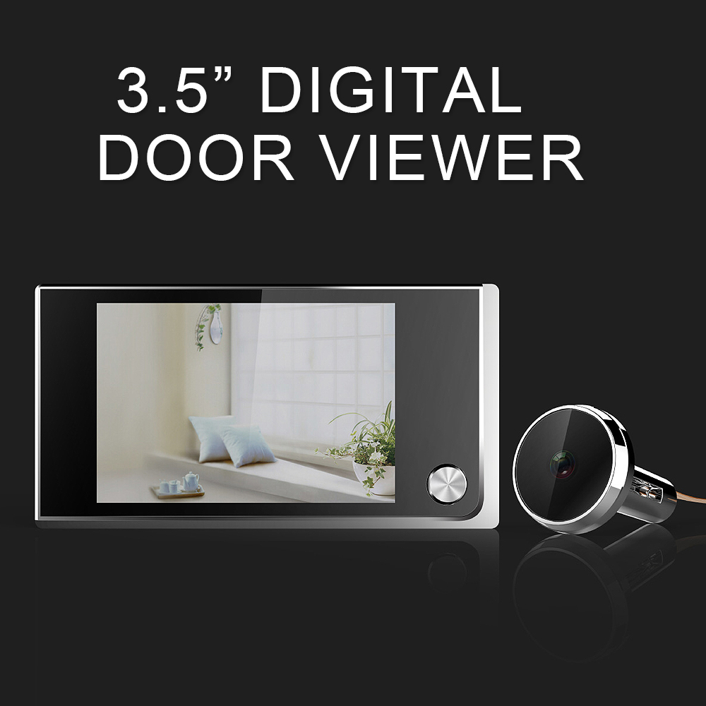 3.5inch Digital Door Camera Doorbell LCD Color Screen ...