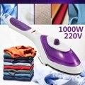 1000 Вт 220 В ручная одежда отпариватель для одежды быстрый нагрев портативный паровой утюг для дома путешествия ЕС вилка Емкость 70 мл сильные ...