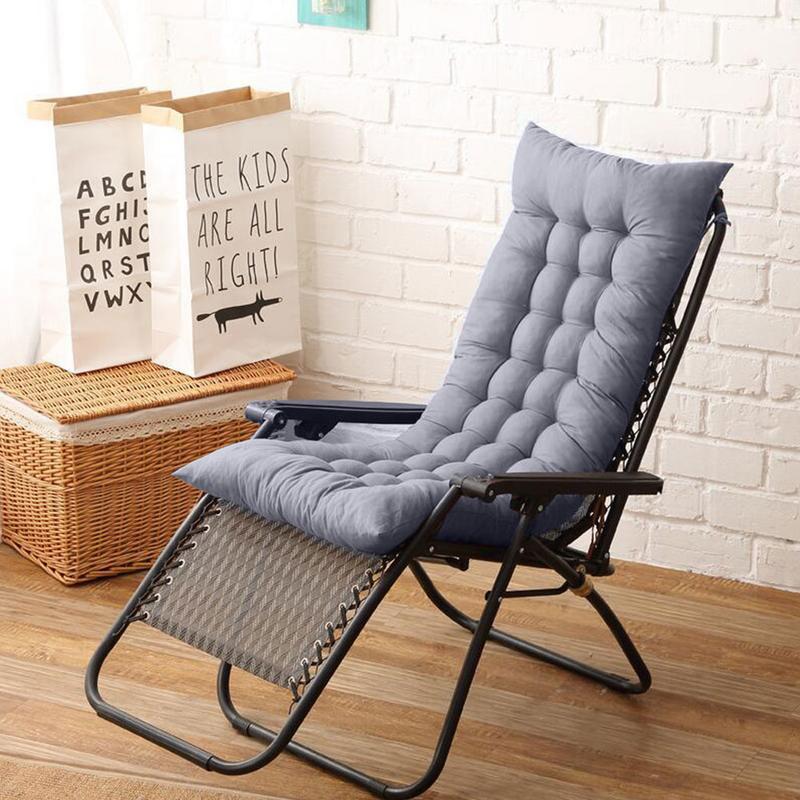 Solid Universal Recliner Rocking Chair Mat Sofa Soft Back Cushions Pillow For Chair Tatami Mat Lounger Recliner Cushion Pad-in Cushion from Home & Garden on Aliexpress.com | Alibaba Group