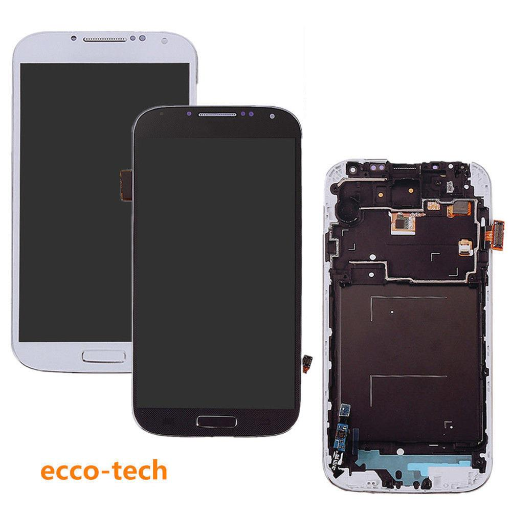 LCD <font><b>Screen</b></font> <font><b>Touch</b></font> Digitizer with Frame for <font><b>Samsung</b></font> <font><b>Galaxy</b></font> <font><b>S4</b></font> i337 <font><b>i9500</b></font> i9505 image