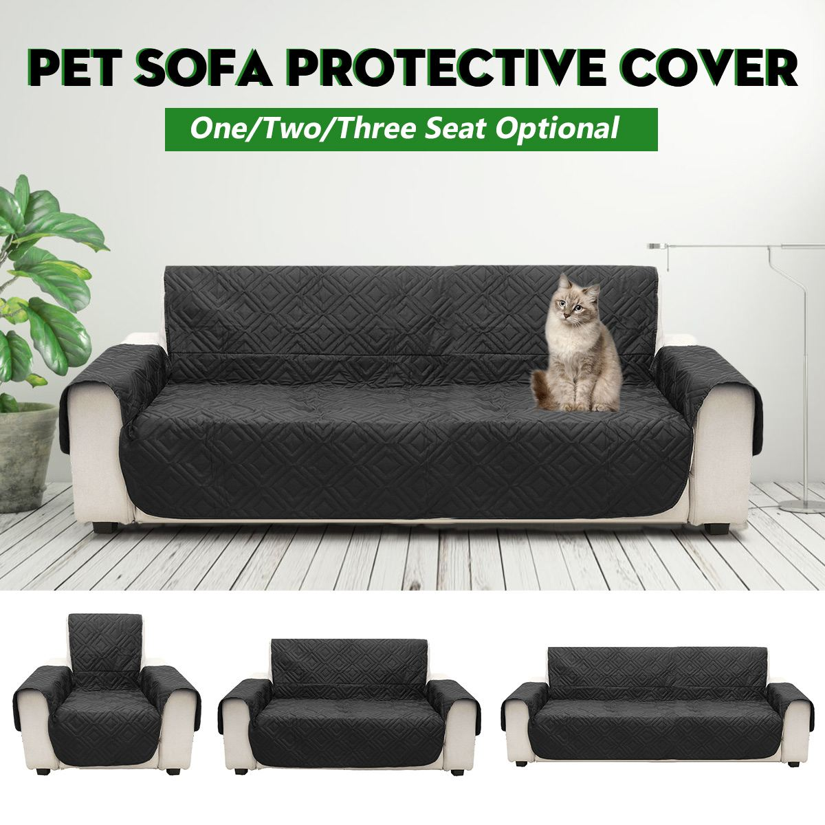 Prime Us 15 29 10 Off Black 1 2 3 Seat Pet Sofa Mat Couch Protective Cover Removable Waterproof Anti Slip Dog Cat Seat Cover In Sofa Cover From Home Gmtry Best Dining Table And Chair Ideas Images Gmtryco