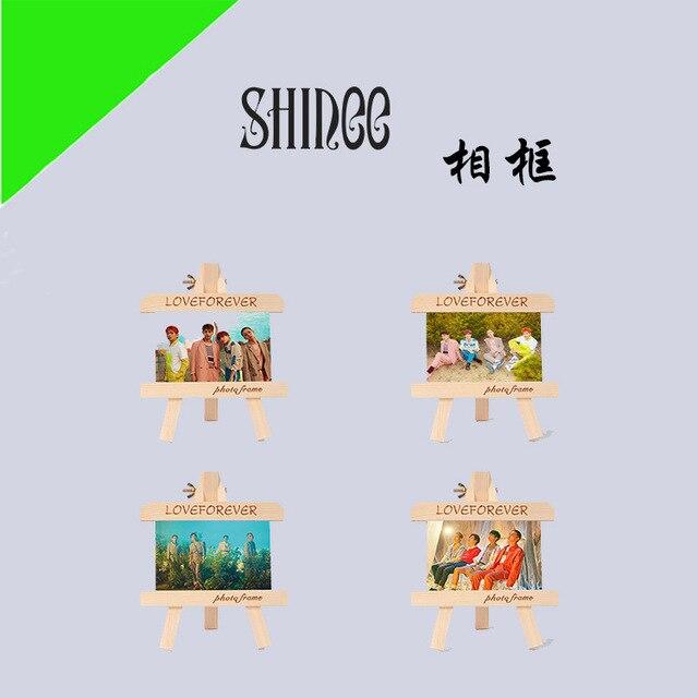 [MYKPOP]SHINEE Wood Frame + Photo KPOP Fans Collection SA18091201
