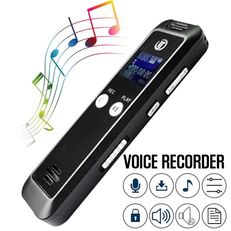 16 GB stylo d'enregistrement à distance HD réduction automatique du bruit FM MP3 enregistreur Audio enregistreur vocal Dictaphone WAV MP3 FM lecteur