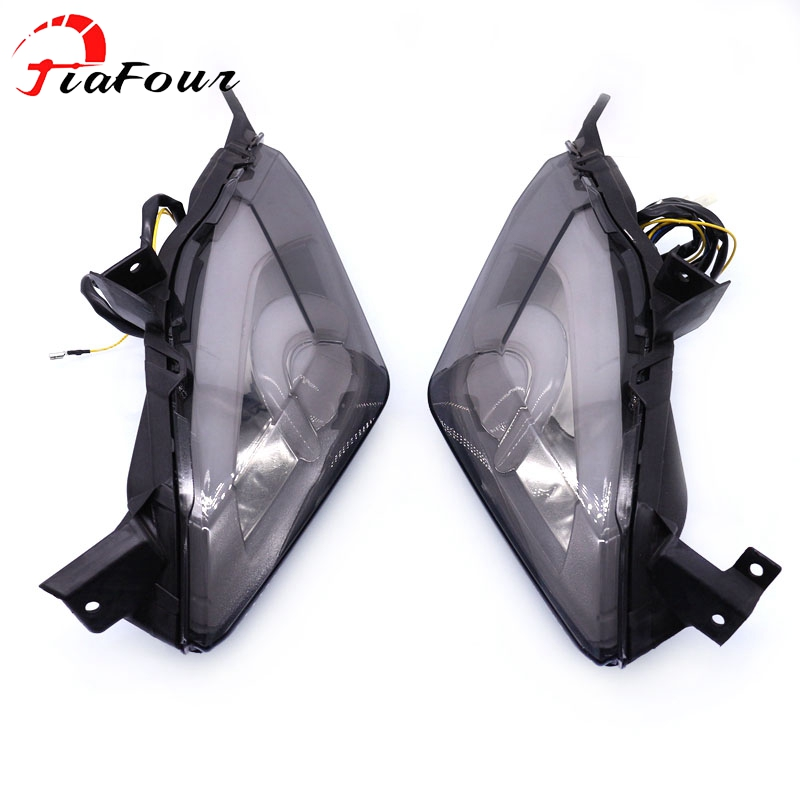 For YAMAHA XMAX 250 X MAX 300 X MAX 400 2017 2019 integrated led tail light turn signal blinker lamp|  - title=