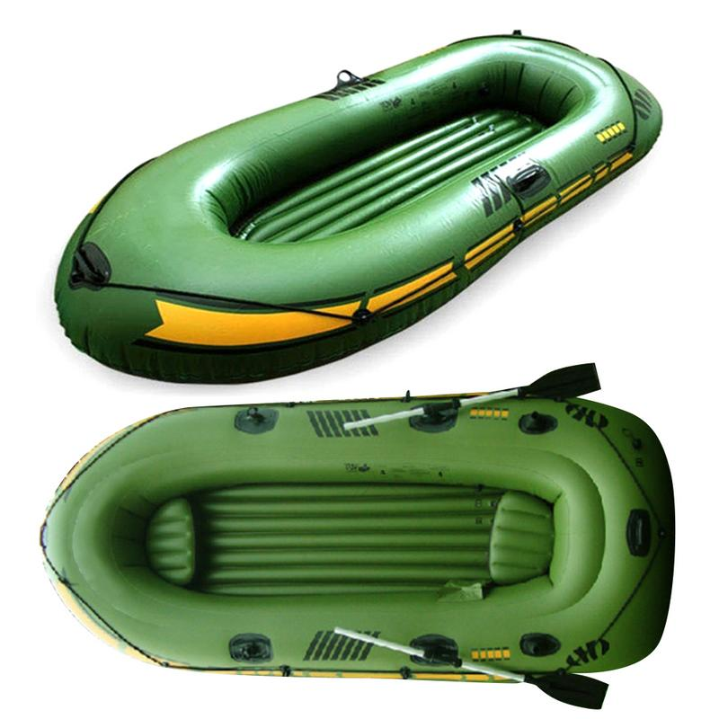 1/2 Person Inflatable Kayak Set Inflatable Kayak Canoe Kayak Pro Drifting Inflatable Boat With Oars And High Output Air Pump