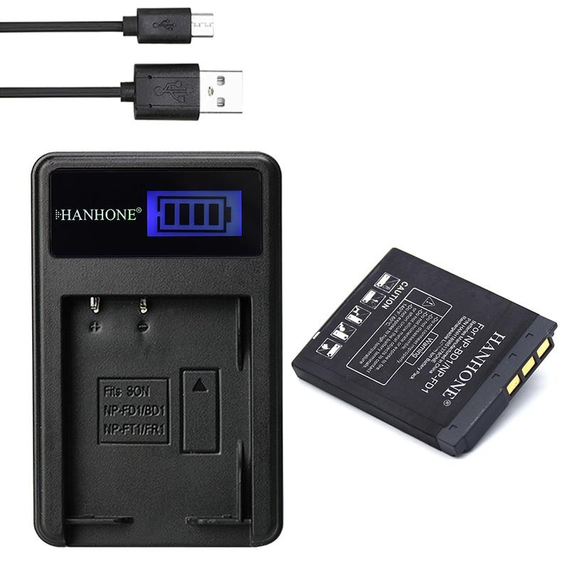 1900mah Np-bd1 Np-fd1 Np Bd1 Rechargeable Li-ion Battery+lcd Usb Charger For Sony T2 T200 T70 T700 T300t77 T500 T90 T900 Tx1