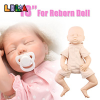 LBLA Soft Silicone Body Bebes Reborn Doll Kits Artist Handmade Mould Accessories DIY Moudel Kit 18 Baby Dolls Christmas Gifts