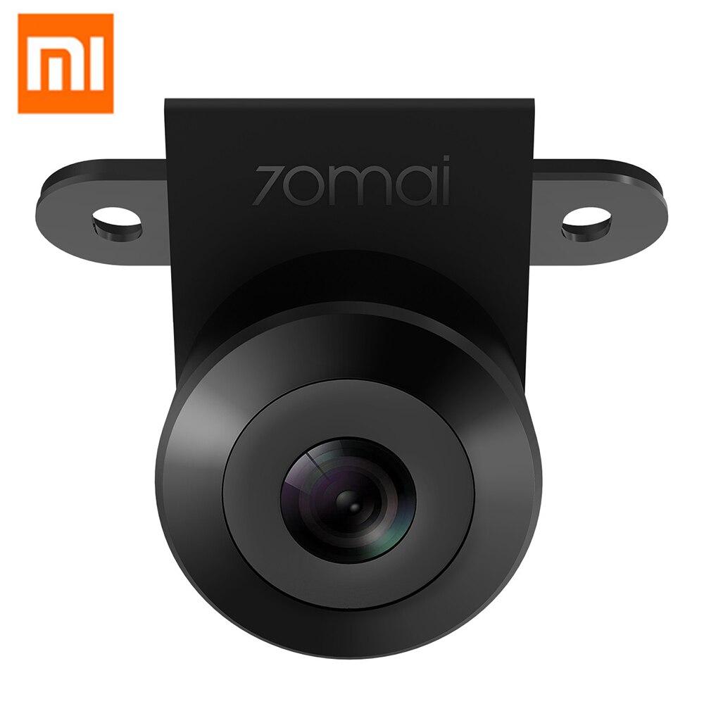 Otomobiller ve Motosikletler'ten Araç Kamerası'de Xiaomi 70mai otomobil yedek kamerası HD 720P Gece Görüş Su Geçirmez Araç Geri Arka Kamera 138 Derece Çift Kayıt title=