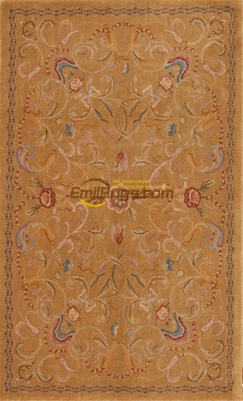 Surdimensionné Savonnerie tapis ancien français Royal tapis grand Floral Antique français Savonnerie tapis Art tapis - 2