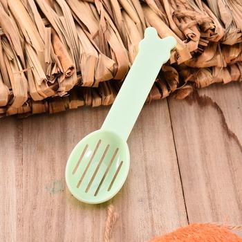 Hamster Dedicado Areia Limpa Colher Para animal de Estimação Pequeno Esquilo Guiné Porco Coelho Casebre De Limpeza De Areia Colher Cor Aleatória a Entrega