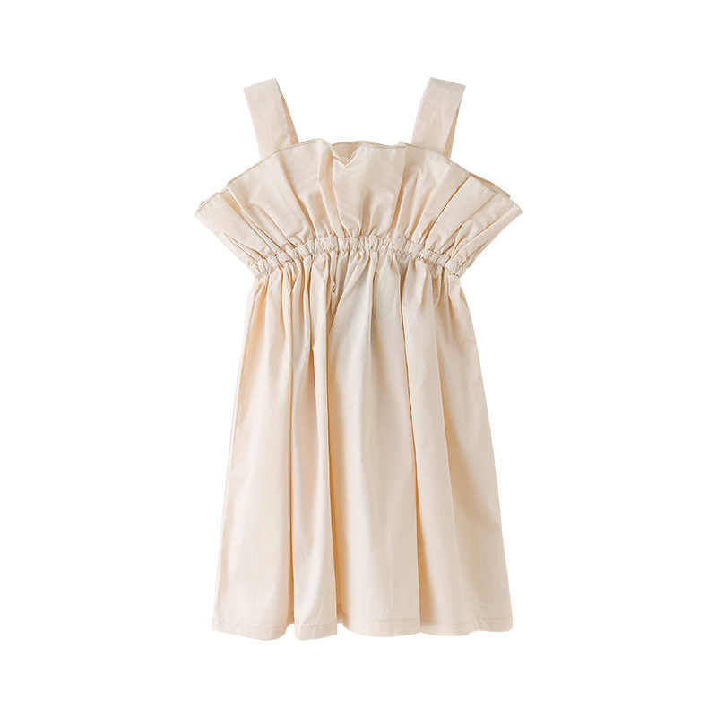 Summer Shoulderless Girls Dress Elegant Teens Ruffle Princess Party Frocks Fashion Cotton Teenage Kids Clothes 4 6 8 10 12 14 T
