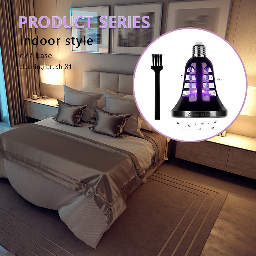 Image 5 - USB Mosquito Killer Lamp E27 Anti Mosquito Electric Trap 8W Outdoor Insect Killer Light Bulb For Home Garden 220V Repellents-in Repellents from Home & Garden