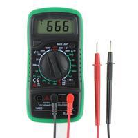 XL830L цифровой мультиметр Вольтметр Амперметр Ом Вольт тесты er ЖК-дисплей тесты измеритель тока защита от перегрузки мультиметр AC DC