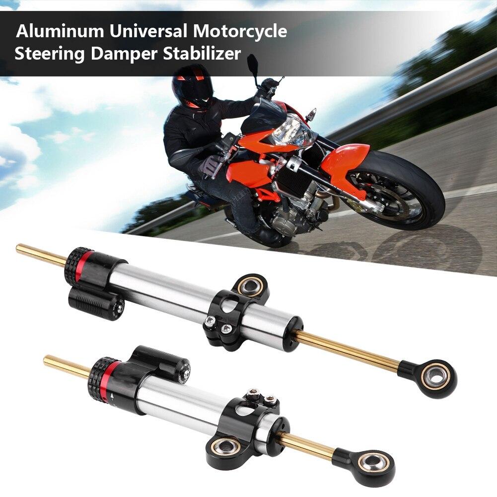 Steering Damper Motorcycle CNC Aluminum alloy Steering Damper Stabilizer Universal for Yamaha MT10 MT07 MT09