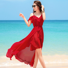 Bohemian Spaghetti Strap Dress Women Short Sleeve V-neck Vestidos Female Casual Spring Summer Beach Party Dresses wildpinky bohemian style women summer casual short sleeve v neck spaghetti strap evening party print short mini dress vestidos