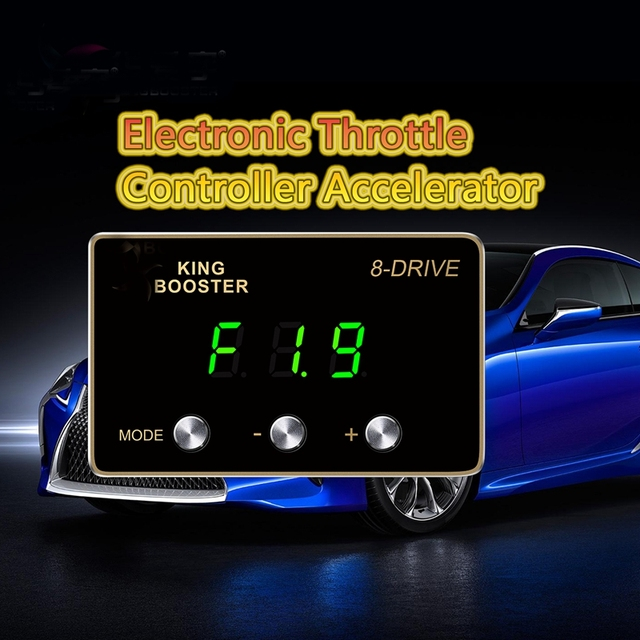 Kings Throttle response controller with green LED remap for MITSUBISHI ASX LANCER OUTLANDER EVO X