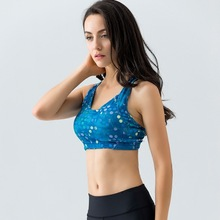 """ Athletic Wear Customized "" High Support Motion Bras Nothing Steel Ring Motion Back Crossing Fixed Chicken Fillet 16024"