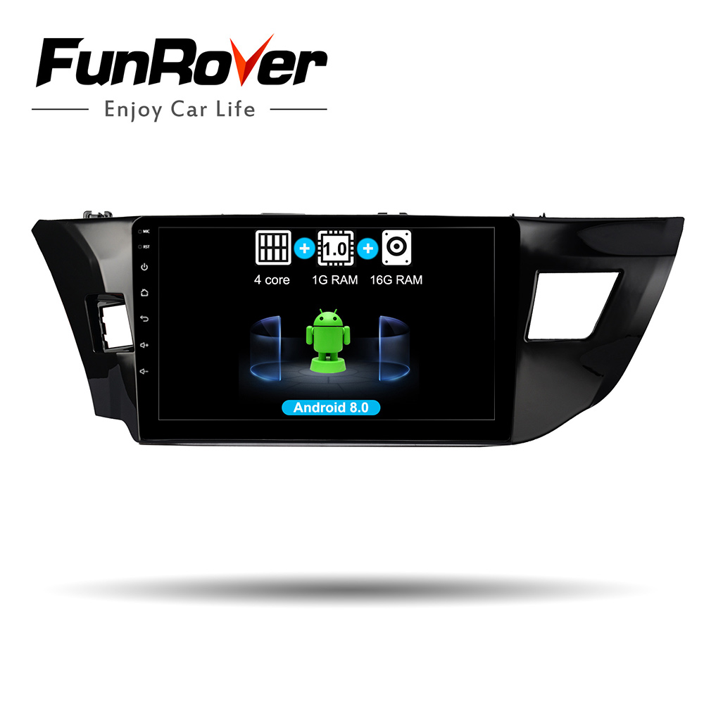 Funrover 10.1 2 din Car radio Multimedia player Android 8.0 For Toyota Corolla 2013-2016 dvd Navigation GPS autovedio RDS wifi Funrover 10.1 2 din Car radio Multimedia player Android 8.0 For Toyota Corolla 2013-2016 dvd Navigation GPS autovedio RDS wifi