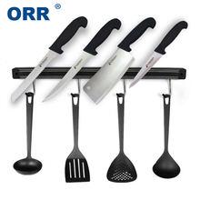 Магнитный Кухонный держатель для ножей настенный прибор с крючками