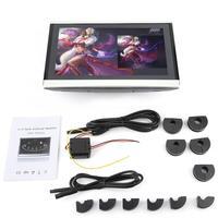 Car Monitor 10.1 inch HD Car Headrest DVD Player Portable Digital Pillow Monitor araba aksesuar