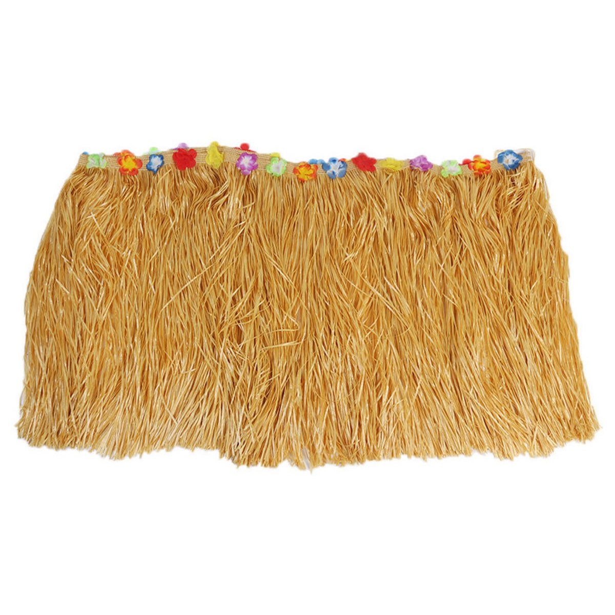Table Skirt Hawaiian Luau Flower Grass Garden Wedding Party Beach Decoration