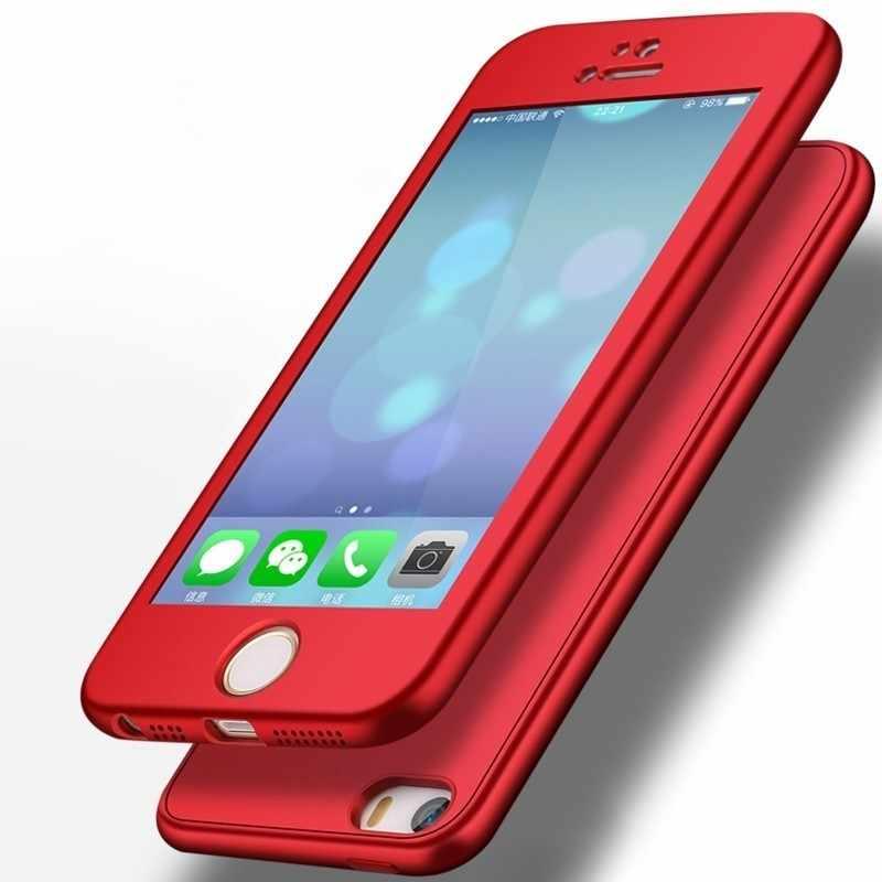 360 Case for Xiaomi MI 6 5X 6X A1 A2 Mi8 8 SE Lite Pocophone F1 Redmi 4X 5 Plus 6 Note 5A 5 6 Pro Full Body Soft TPU Back Cover