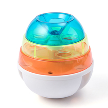 Cute Pet Toy Educational Automatic Leaking Device Food Ball Creative Dispensing Tumbler Interactive