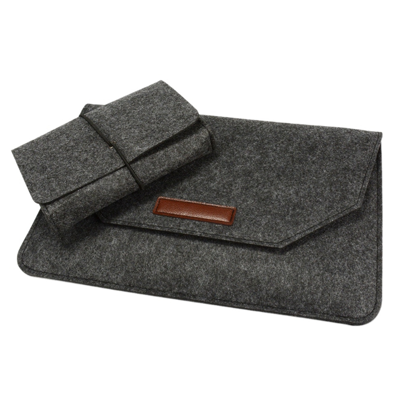 Hot Sale Voground Laptop Sleeve Compatible 11 Inch Macbook Air,Wool Felt Material Breathable,Shockproof,Wear Resistant Tablet image