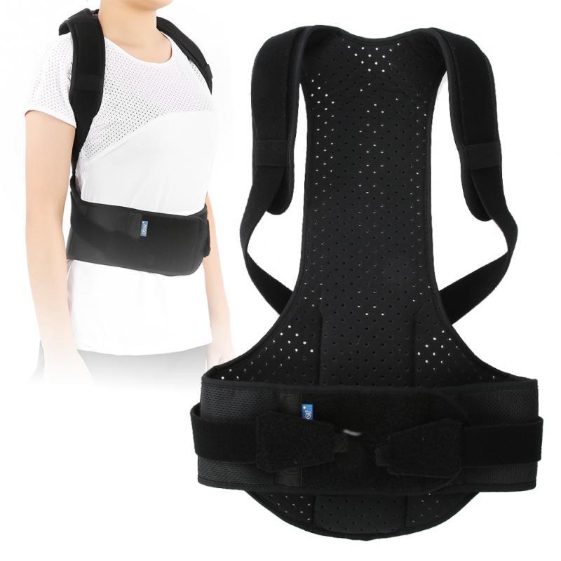 3 Types Adjustable Back Posture Corrector Unisex Adult Kids Shoulder Back Brace Children Posture Corrector Lumbar