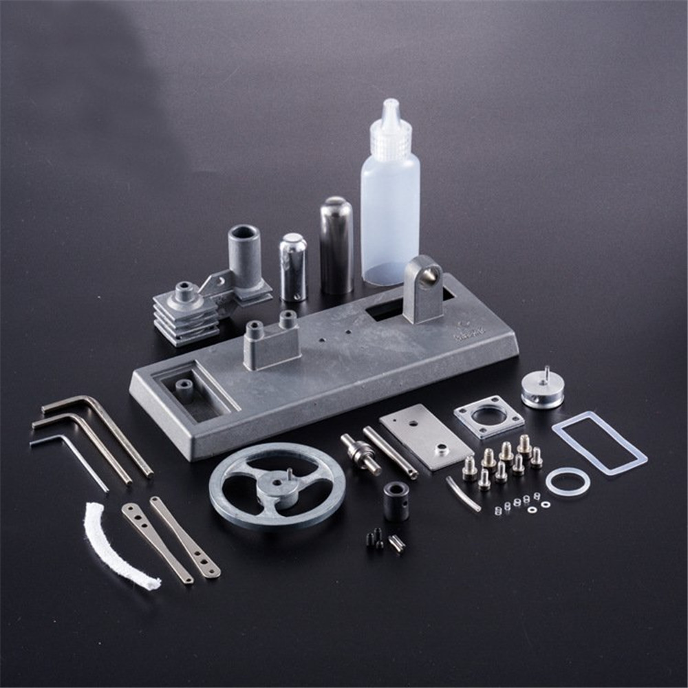 Assemble Stirling Engine Kit Kids Handmade Class Science Toy Bolck Building Model Science Physics Learning Teaching Student Toy
