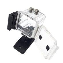 الغوص الإسكان شل غلاف ل queleca SQ13 كاميرا عمل صغيرة ما يصل إلى 30 متر (98 قدم) مقاوم للماء شفاف واضح