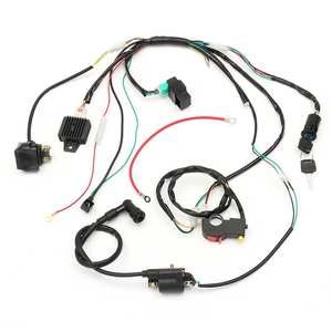 Image 2 - Motorcycle CDI Wiring Harness Loom Solenoid Ignition Coil Rectifier for 50cc 110cc 125cc PIT Quad Dirt Bike ATV