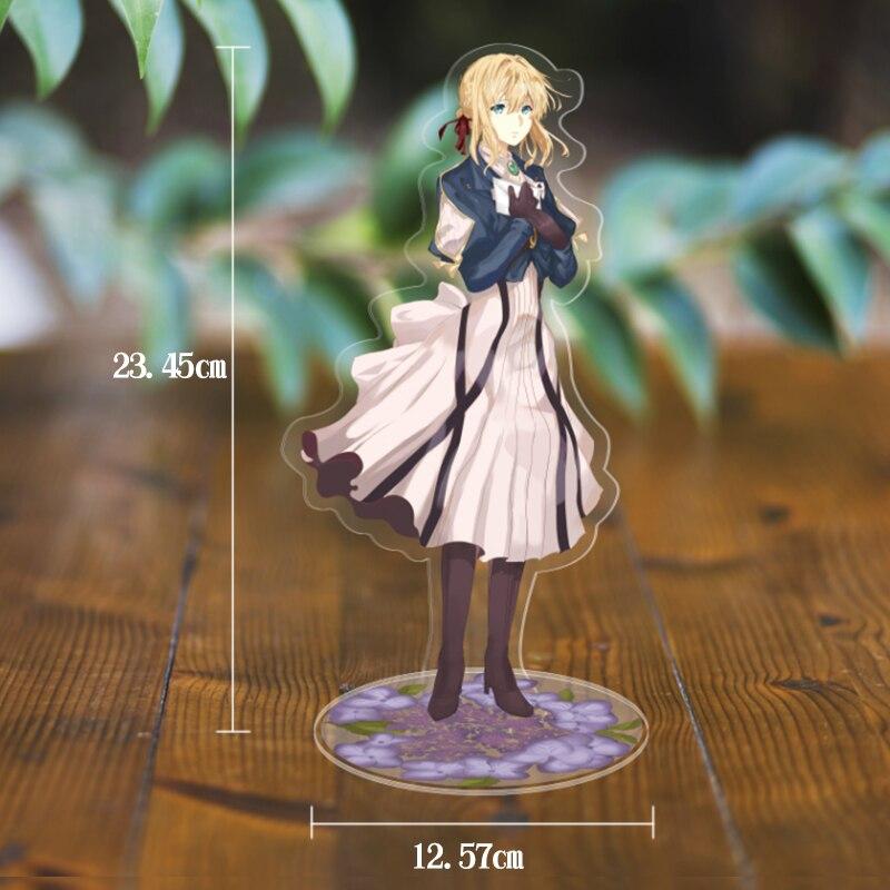 Milky Way Anime Violet Evergarden Acrylic Figure Printed Acrylic Licensing Decoration