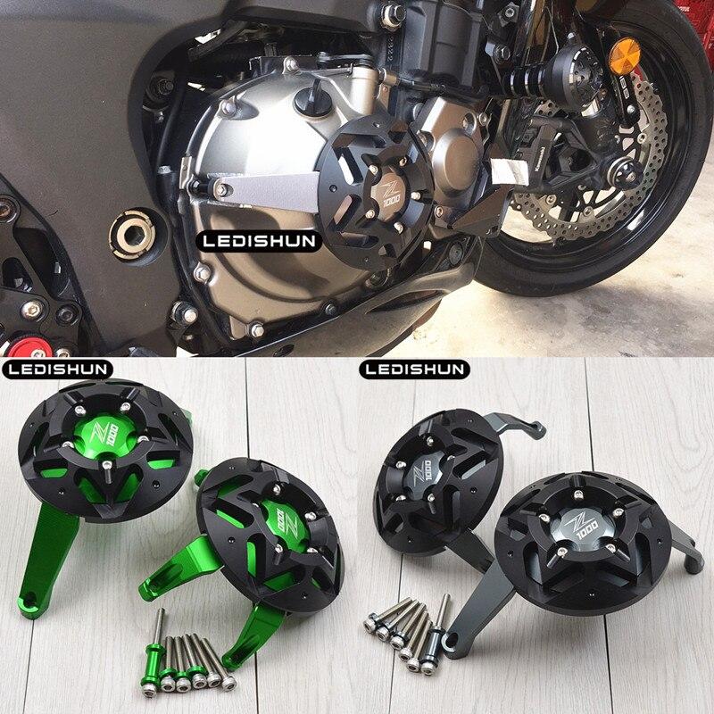 Protetor de motor para kawasaki z1000, acessório para motocicleta z1000sx 2010-2019
