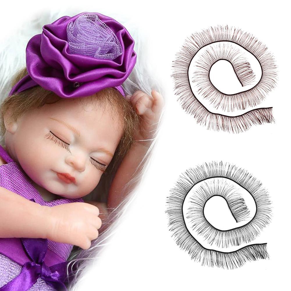 20cm Eyelashes for Baby Dolls Cute Piecey Clusters Dolls Accessories Kids Children Toy Doll False Eyelashes Eyelashes