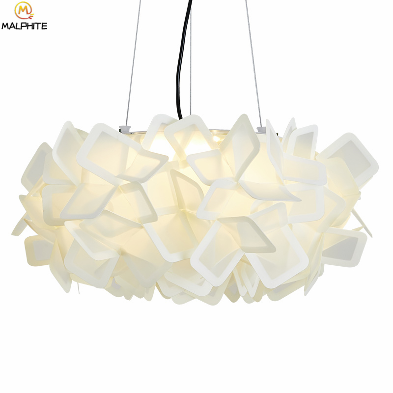 Modern Hanging Ceiling Lights Led Ceiling Lamp Pvc Remote Control Dimming Luminaire Living Room Bedroom Deco Lighting Fixtures Aesthetic Appearance
