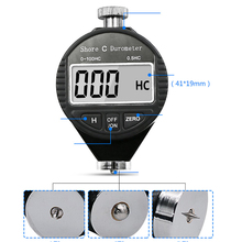 Hot Digital Durometer Hardness Tester - Tyre Rubber Measuring 0-100H Newly