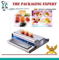 Stainless Steel Cling Film Sealing Machine Food Fruit Vegetable Fresh Fish Meat Film Wrapper Sealer Packaging Tool Super Market