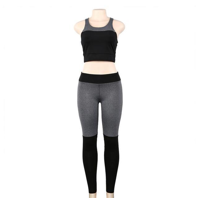 Yoga Sports  2 Piece Clothing  Suit Set