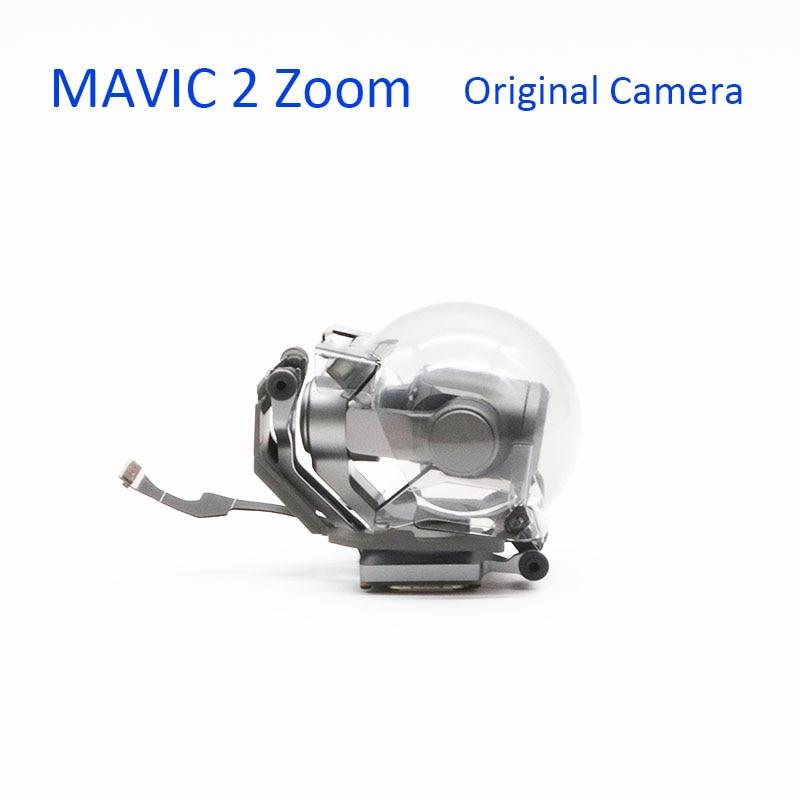 Фирменная новинка оригинальный карданный датчик запасная часть для камеры DJI Мавик 2 зум Gimbal камера с плоским шлейф услуги запасных Запчаст...