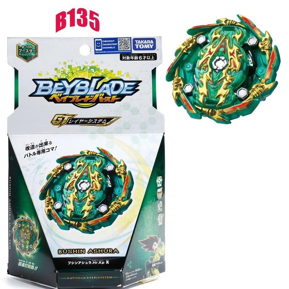 Takara Tomy Beyblade Burst B135 Shenwu Xiulaoba Rotary Detonation Gyroscope Bayblade B135
