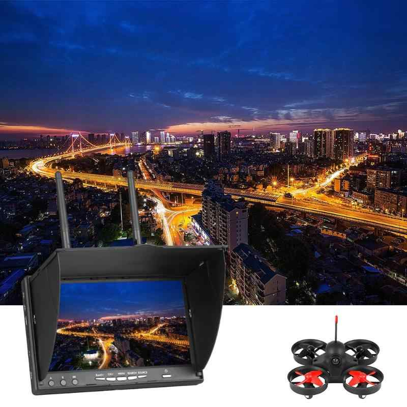 7Inch FPV Monitor LT5802S 5.8G 40CH LED Backlight Multicopter with Build-in Battery TFT LCD Screen 800*480 Resolution 600 CD/m2