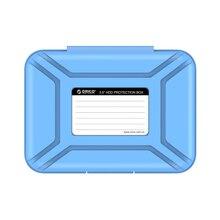 Orico Phx35-V1 3,5 дюймов жесткий диск защитная коробка Sdd чехол для хранения Hdd чехол с Eva губчатый коврик поддержка пыленепроницаемый + Mo