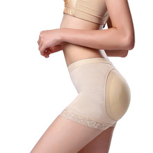 Women Breathable Posture Correction Support Sexy Butt Shaping Lifting Pants Padded Briefs Fake Ass Supports Brace
