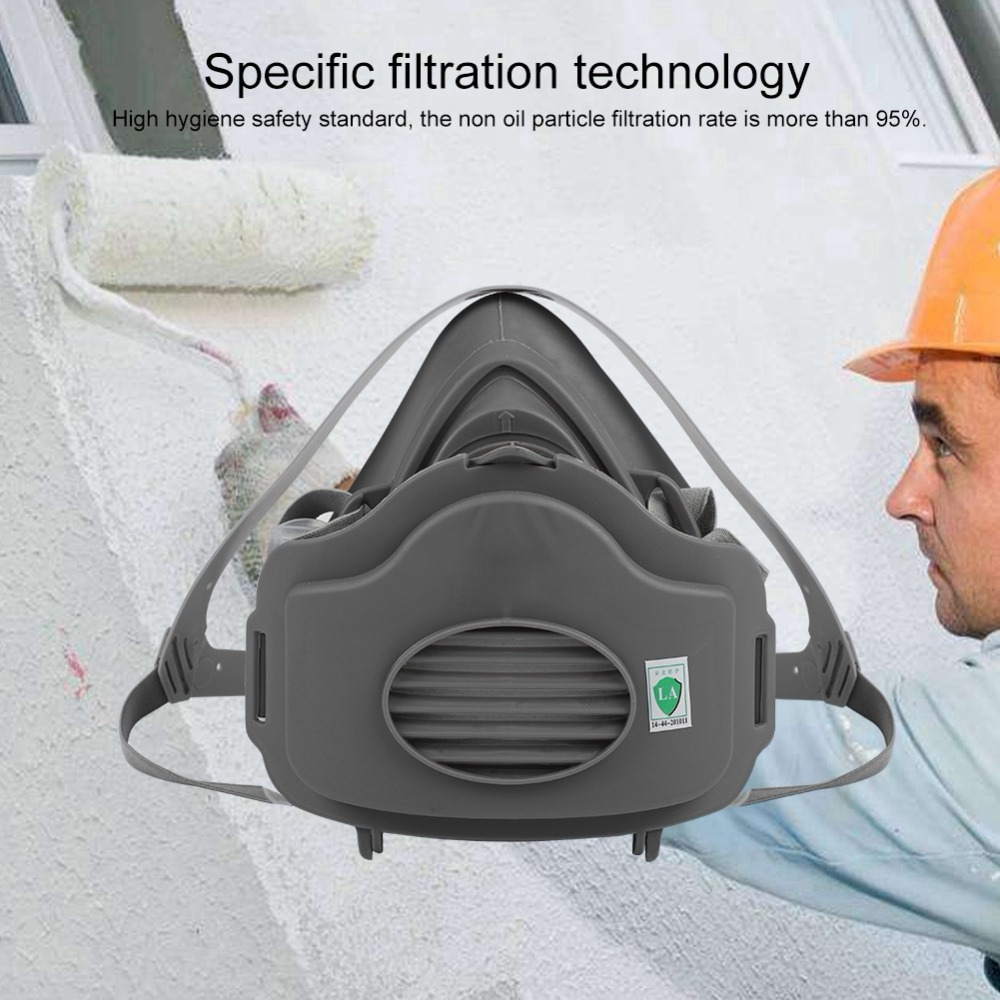 3200 Respiratory Protective Mask Anti PM2.5 Gas Filter Respirator Dust Mask