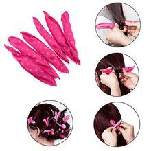 hot deal buy bellylady 20 pcs flexible foam sponge heat-free hair curlers spiral curls set hair care diy styling tools