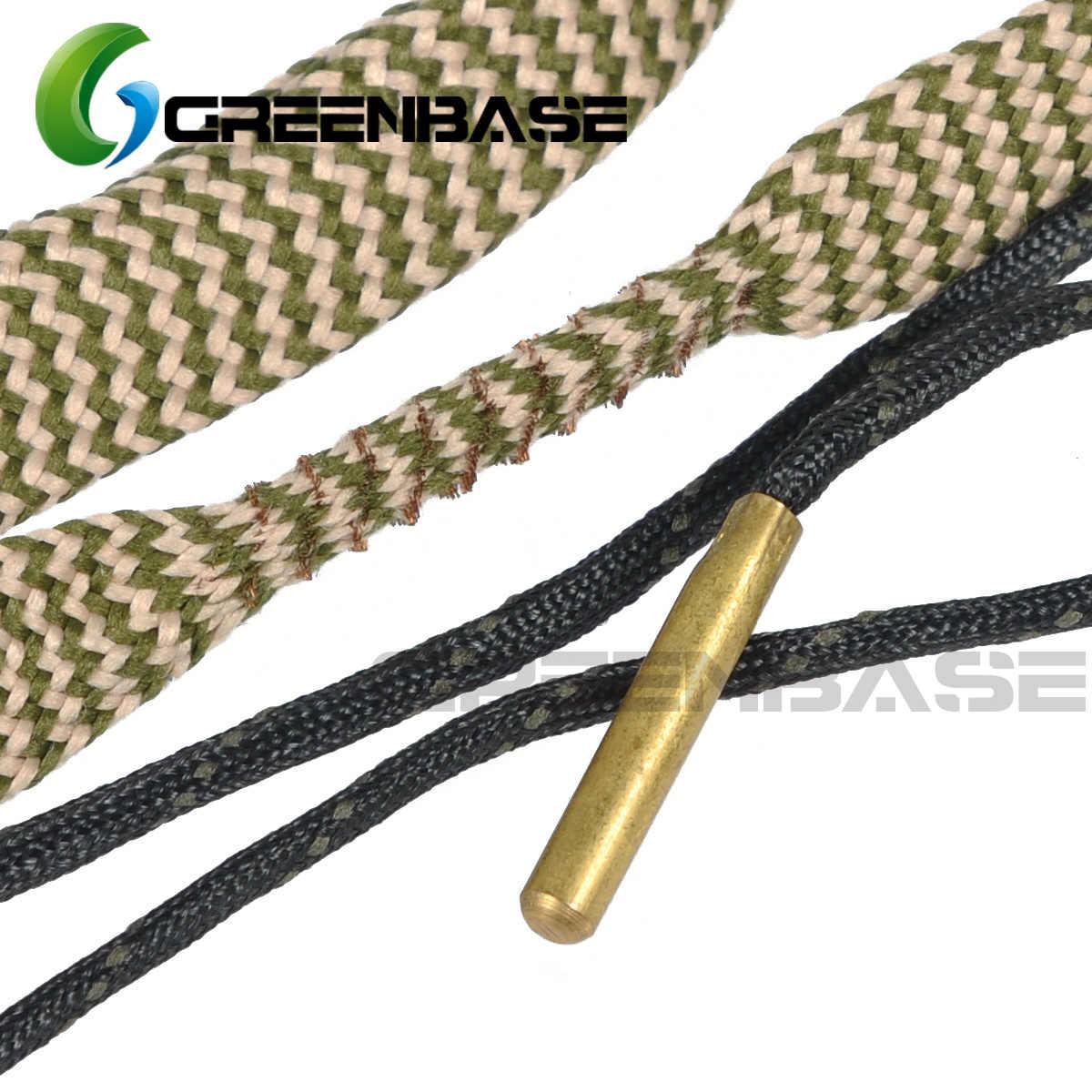 Jacht Geweer Bore Cleaner Snake.22 Cal.223 Cal.38 Cal & 5.56mm, 7.62mm, 12GA Rifle Cleaning Kit Tool Geweerloop Calibre Slang Touw